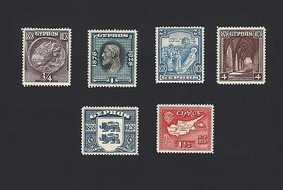 Cyprus 1928 issue incomplete LMM