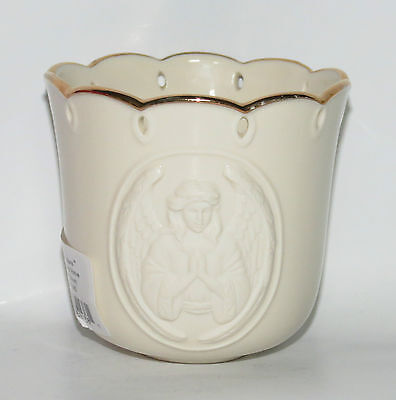 "Lenox Angelic Visions Prayer Angel Votive 3.25""  with Original Box"