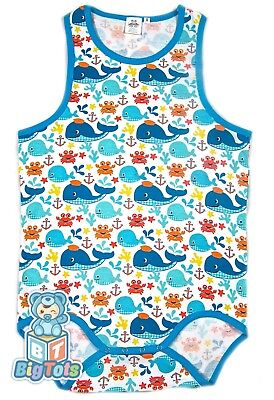 BIG TOTS TANK adult size  Whales bodysuit baby fabric