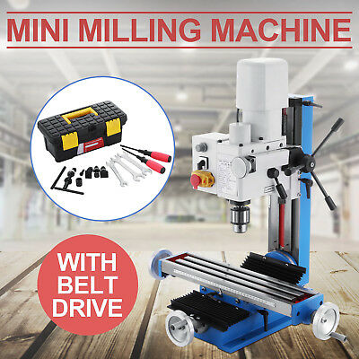 Mini Milling Drilling Machine With Gear Drive -45°~+45°  Variable Speed