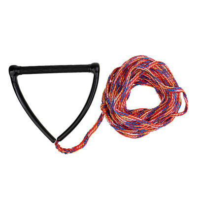 Safety 75' Water Ski Rope Wakeboard Knee Board Tow Line with Non-slip Handle