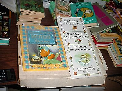 Winnie the Pooh Bedtime Storybook and Three of Beatrix Potter Stories