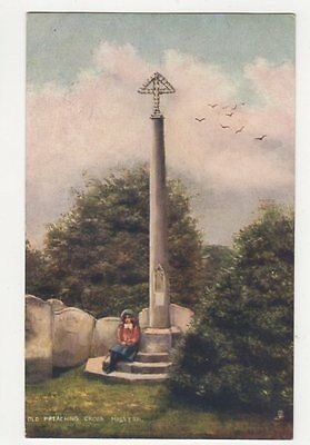 Old Preaching Cross Malvern Tuck Postcard  218a