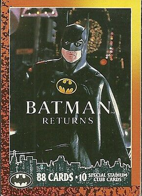 1992 Topps Batman Returns 88 card set