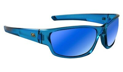 Dirty Dog Chain Adult Sunglasses Crystal Blue ~ Fusion Mirror 58072 *£32.98
