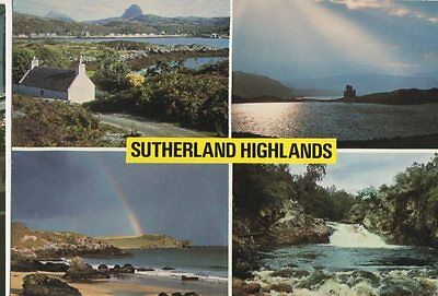 The Sutherland Highlands Old Postcard 029a