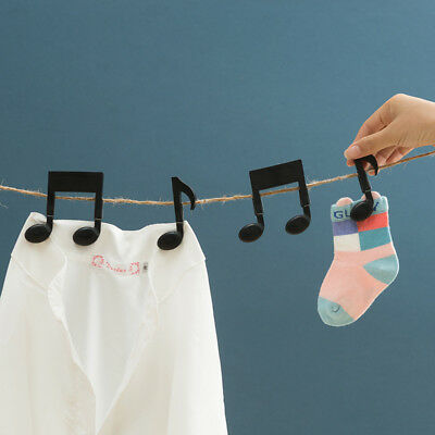 1Pair Music Style Seal Pour Food Storage Bag Clip Food Sealing Clip Multifuction