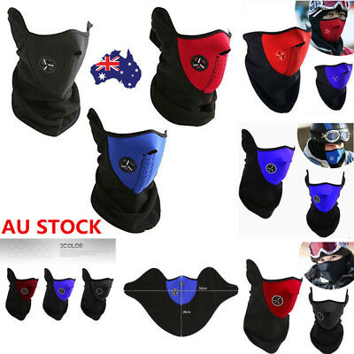 1/2 Motorcycle Bike Ski Snow Winter Sport Face Mask Neck Warm Veil Guard Outdoor