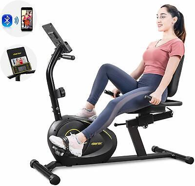 Merax Recumbent Bike Gym Cardio Exercise Workout Home Machine Stationary Bicycle