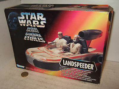 Kenner 69770 Star Wars, Landspeeder - NEU But Licht Dampf / Stress auf Box