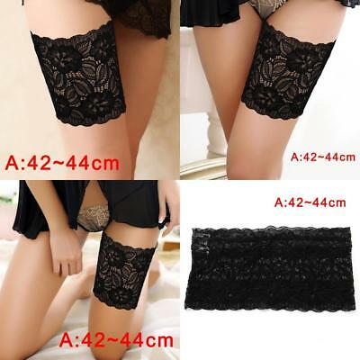 Lady Summer Anti-Chafing Thigh Elastic Socks Bands Prevent Thigh 42-44cm_zg