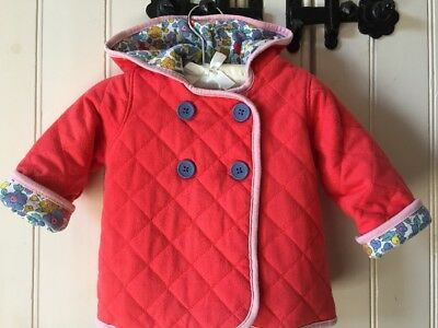 Gorgeous Baby Boden Liberty Print Quilted Jacket Age 6-12 Months