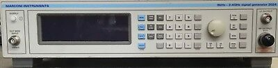 Marconi 2024 9KHz-2.4GHz Synthesised Signal Generator - Perfect Working Order