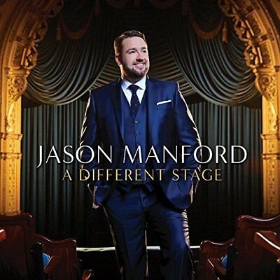 JASON MANFORD A DIFFERENT STAGE CD (Released 6/10/2017)