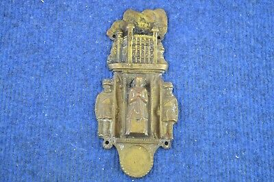 Lovely Vintage Very Rare ''The Tower Of London'' Brass Door Knocker RDL309