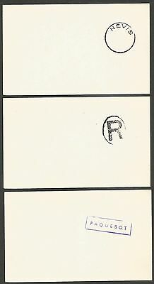 St Christopher Nevis Anguilla proof impressions of postmarks on cards (31)