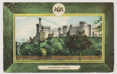 Inverness-shire postcard - Inverness Castle