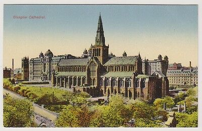 Lanarkshire postcard - Glasgow Cathedral