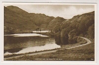 Caithness postcard - Loch Eilt and the Road to the Isles
