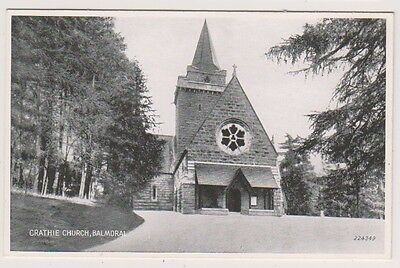 Aberdeenshire postcard - Crathie Church, Balmoral