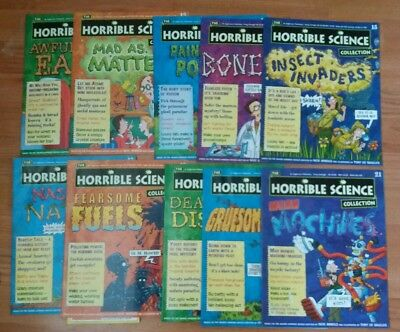 horrible science magazines 11- 21