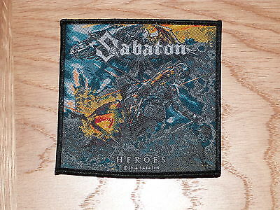 Sabaton - Heroes (New) Sew On W-Patch Official Band Merchandise