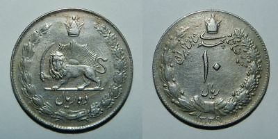 Middle East : 10 Rials 1339 (1960) - Nice Vf
