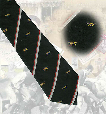 Leicester Tigers, 9.5cm  RUGBY TIE