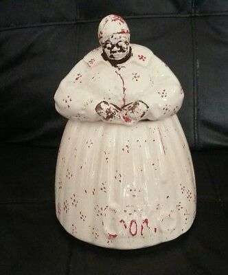 "Vintage McCOY BLACK AMERICANA ""MAMMY"" COOKIE JAR"