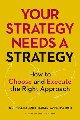 Your Strategy Needs a Strategy (Hardcover), Reeves, Martin, Haana...