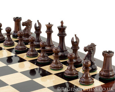 Sandringham Series Rosewood Chess Pieces 4 Inches Rrp £407.34