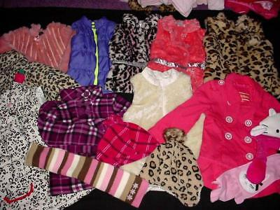 BABY GIRL 5T 6T Fall WINTER JACKET OVER COAT PUFF VEST CLOTHES LOT