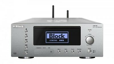 Block cvr-50 Diamond Silver, CD, DAB Internet Radio, Amplifier, Bluetooth