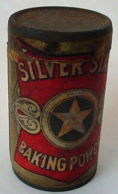Silver Star Baking Powder container Canby, Ach & Canby Company Dayton Ohio