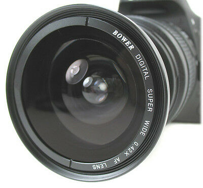 Fisheye to Wide-angle Converter fits Nikon D7000 D5000 D300 D3100w/18-55mm