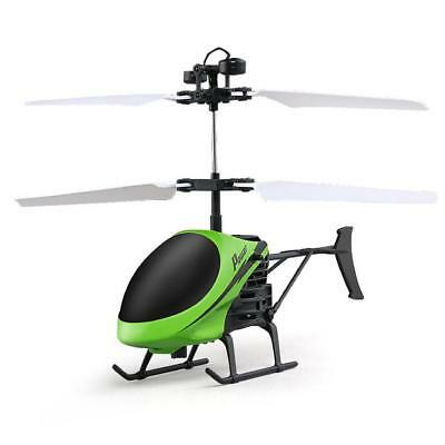Fashion Flying Mini RC Infrared Induction Helicopter Aircraft Flashing Light Toy