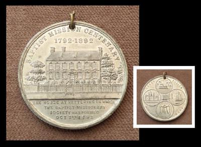 BAPTIST MISSIONARY MEDAL 1892_KETTERING_West Indies/Slavery_Africa_China_India