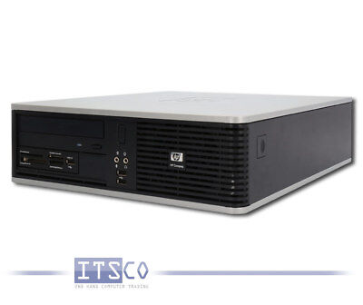 Pc Hp Compaq Dc5800 Sff Core 2 Duo E8200 1Gb Ram Ohne Hdd Dvd-Rom Usb  Sff