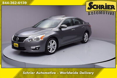 2015 Nissan Altima  15 Nissan Altima Gray FWD HID Bose Audio Bluetooth Leather Sunroof