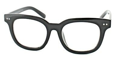Clear Lens Glasses Chunky Thick Black Frames #Kingsman Style 1699 Retro New