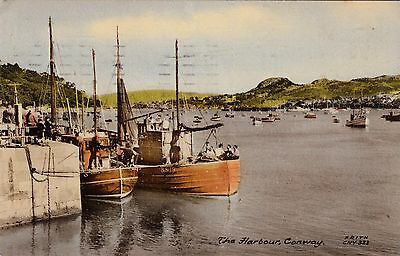Postcard - Conway - The Harbour