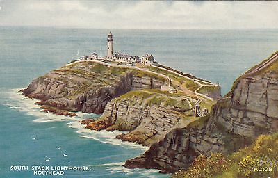 Postcard - Holyhead - South Stack Lighthouse (Valentine)