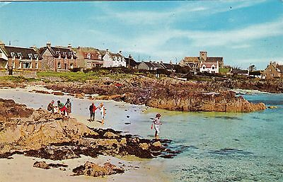 Postcard - Iona - Beach and Village
