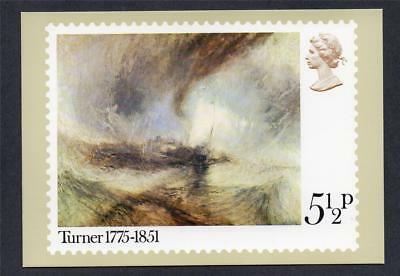 Gb Unused 1975 (Sg972) Phq Card (9) Birth Bicentenary Of Jmw Turner