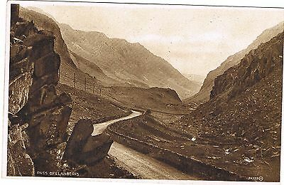 Postcard - Pass of Llanberis (Photogravure)