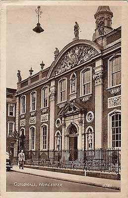 Postcard - Worcester - Guildhall