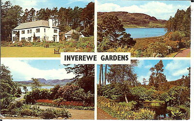 Scotland: Inverewe Gardens,Multiview - National Trust for Scotland - Posted 1976