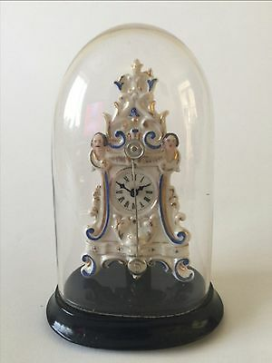 Antique Zappler Clock, Mantle Clock, Carriage Clock, Skeleton Clock