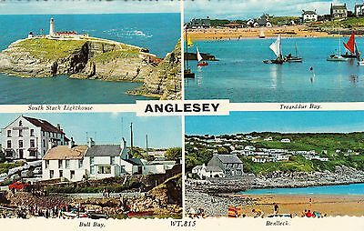 Postcard - Anglesey - 4 views