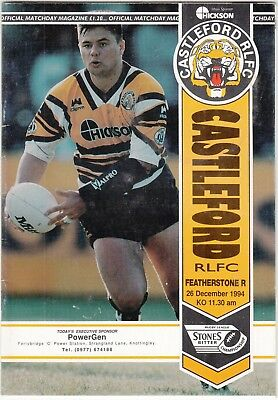 Castleford v Featherstone Rovers 1994/5 (26 Dec)